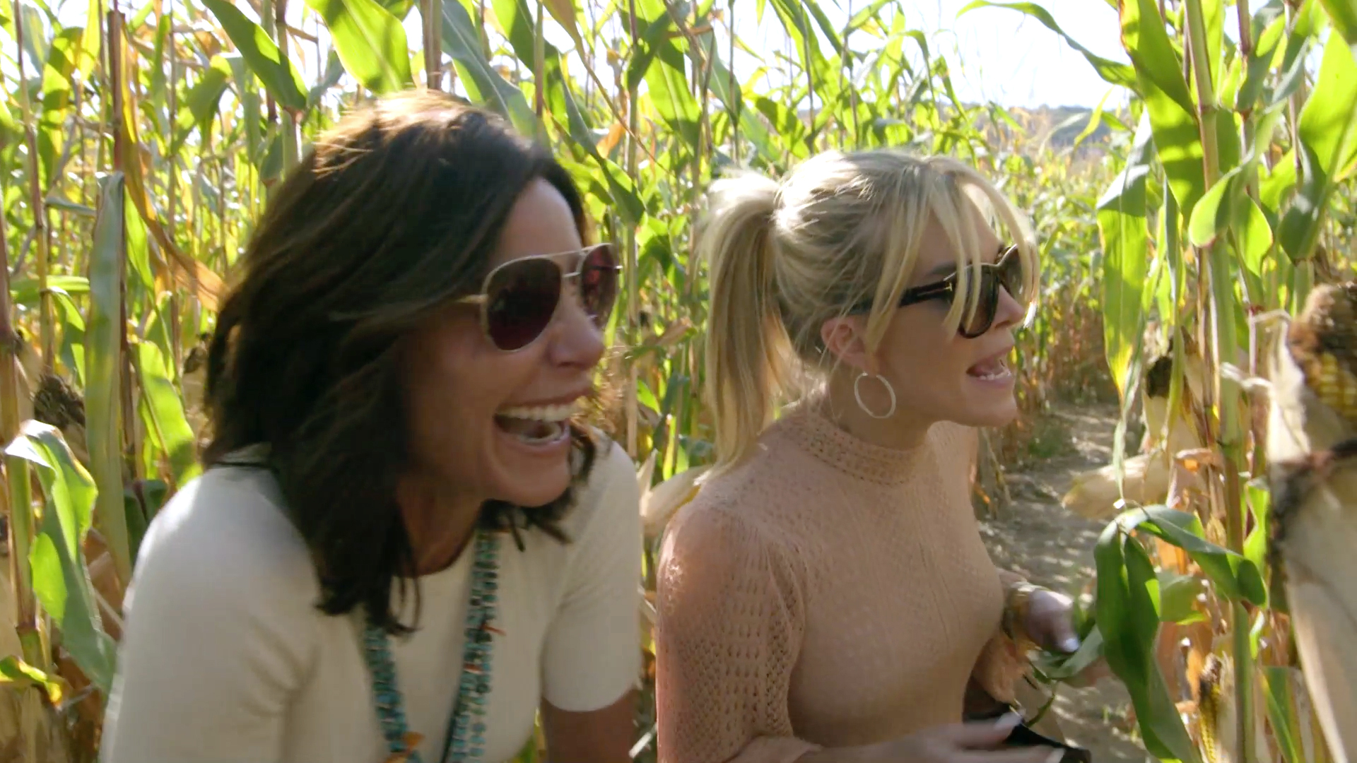 The Real Housewives of New York City Get Lost in a Corn Field