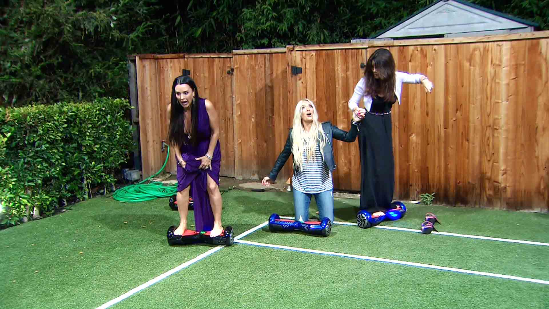 Unseen Moment: Housewives on Hoverboards