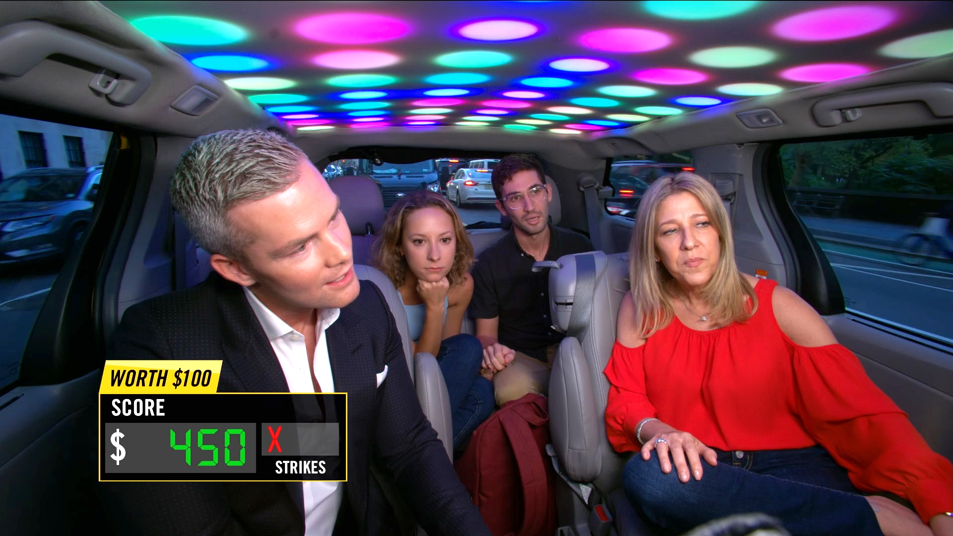 Ryan Serhant Rides In the Cash Cab