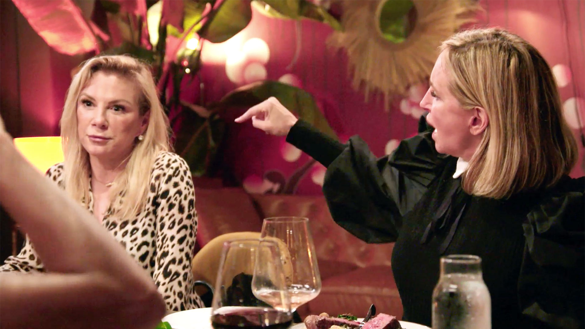 "Ramona Singer Tells Sonja Morgan to ""Stop the Drinking"""