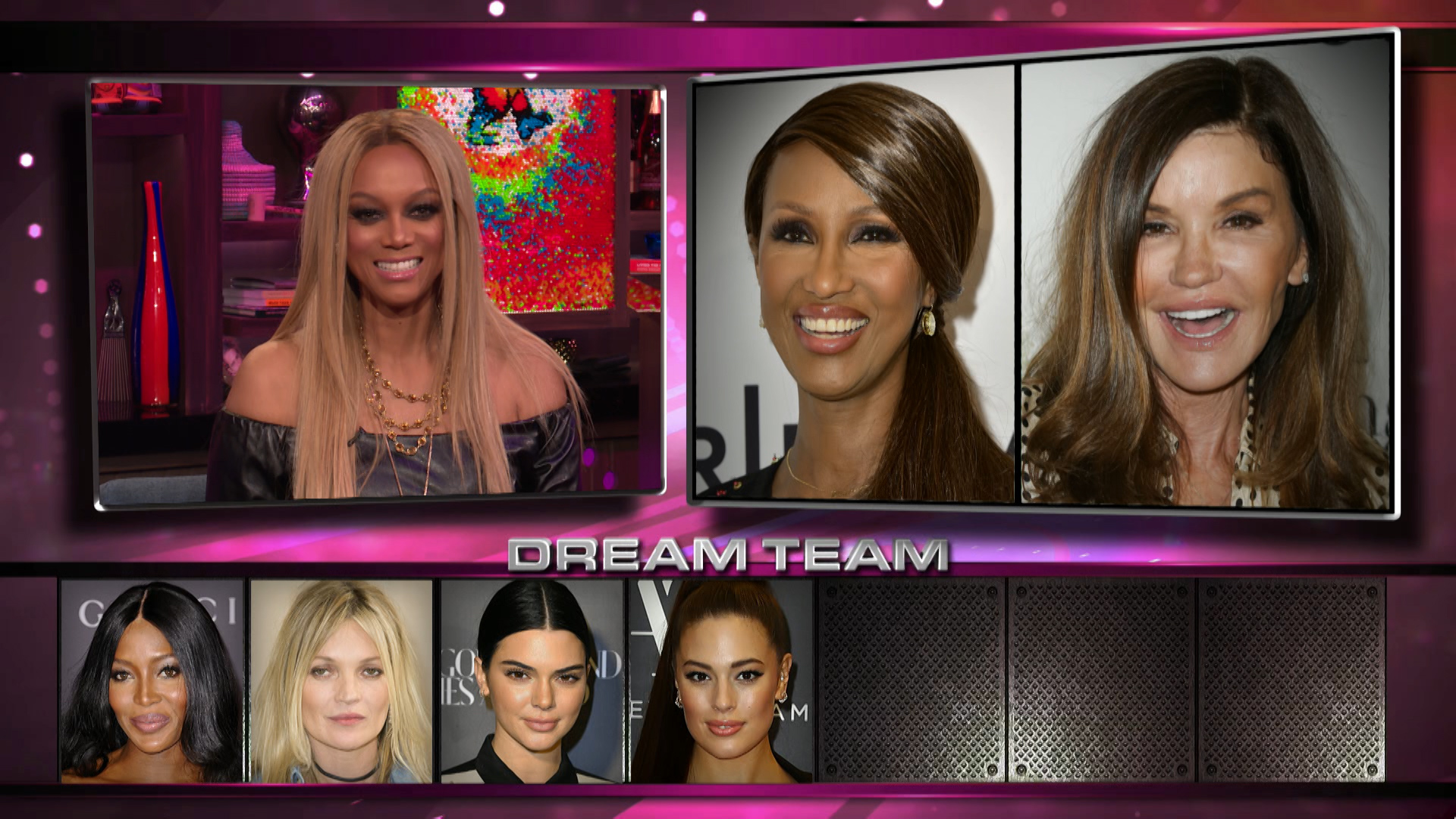 Tyra Banks' Supermodel Dream Team