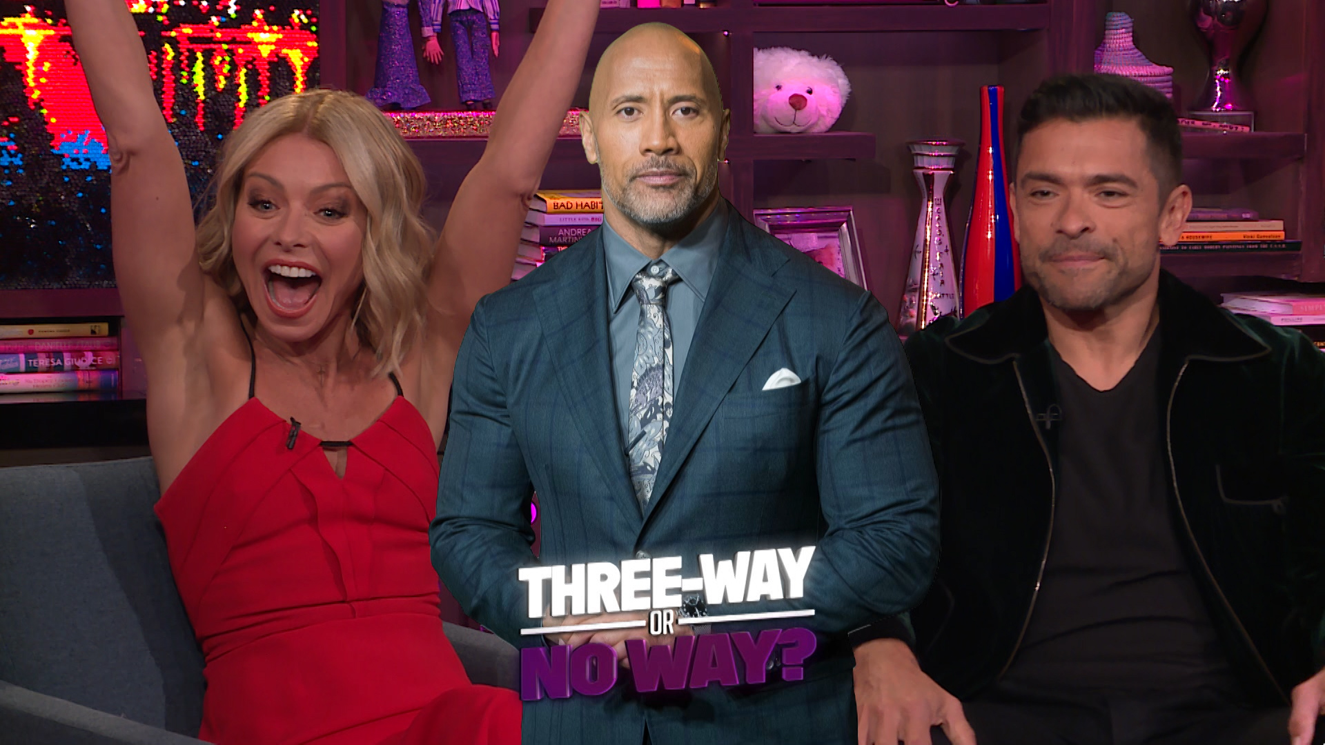 Kelly & Mark Play Threeway or No Way!?