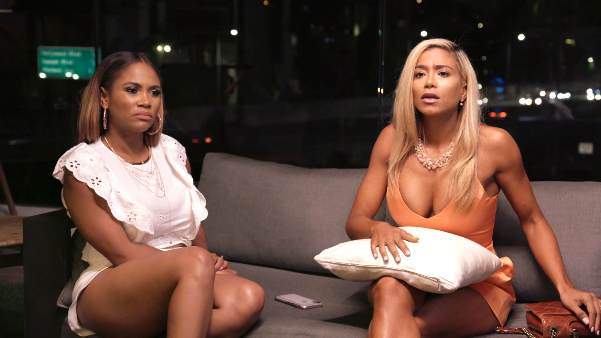 Jazmin Johnson Reacts to Dr. Imani Walker's Shady Comment About Her Home