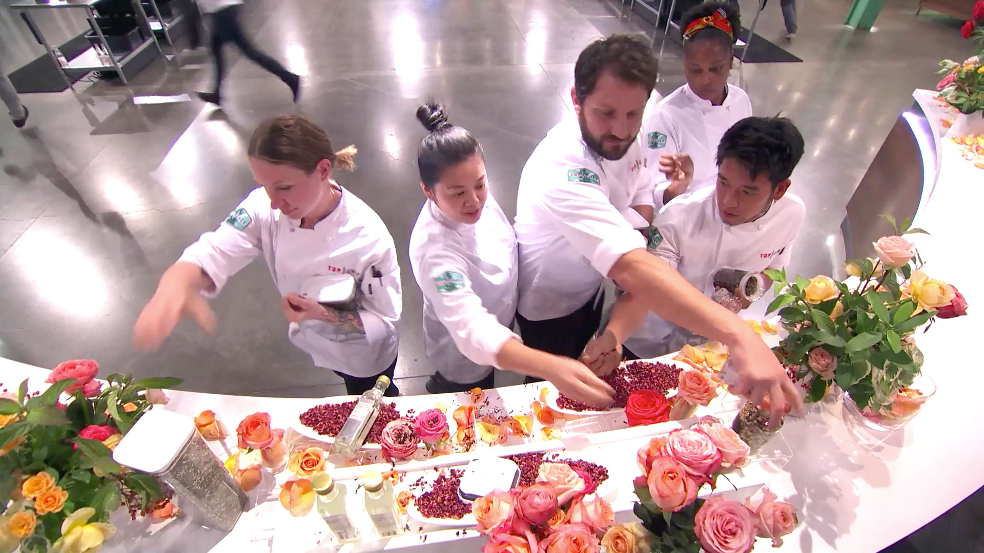 The Chefs Are Tasked With Creating a Dish Featuring Rose Flavors