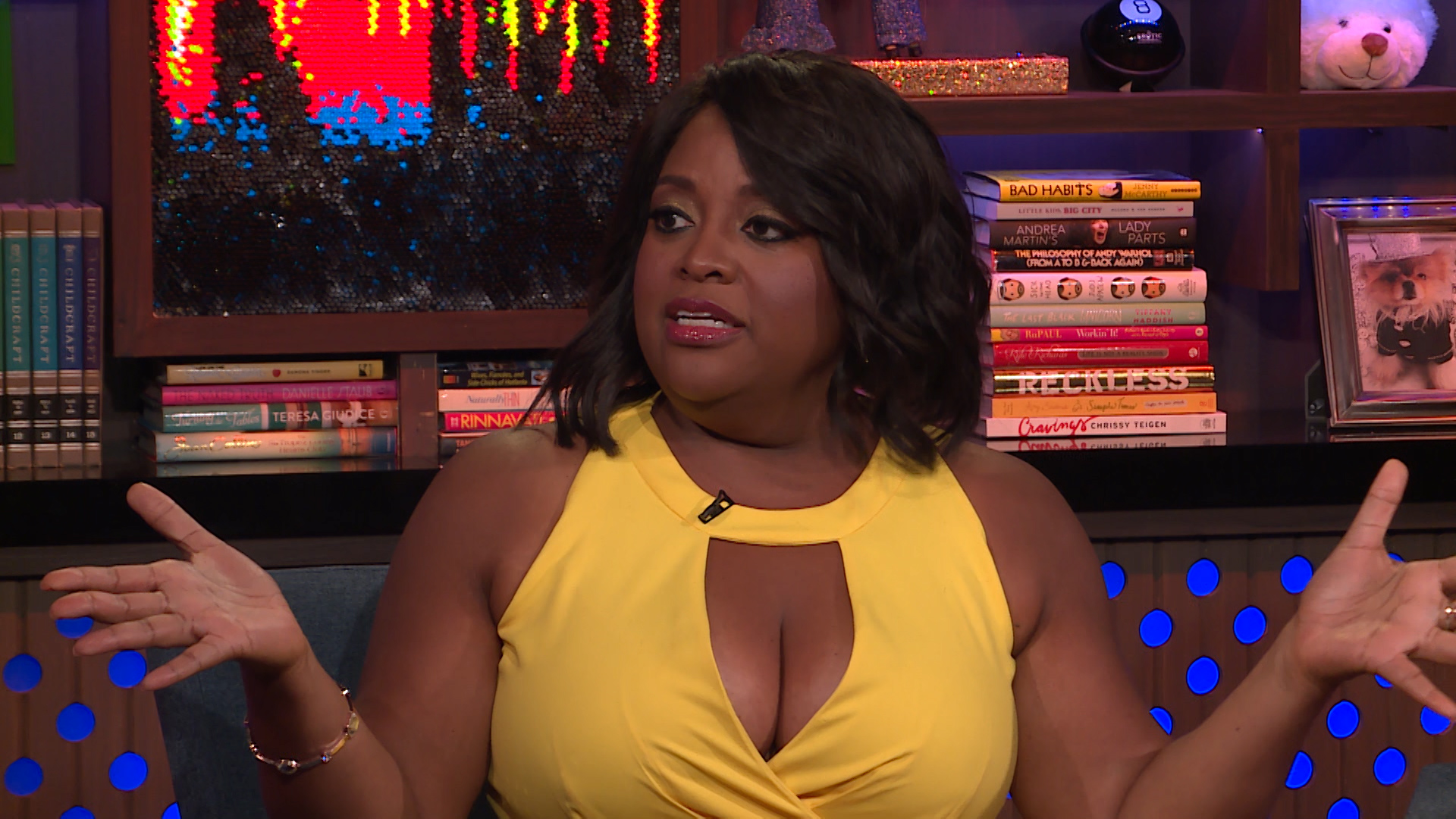 Sherri Shepherd Thinks Meghan McCain Should 'Lighten Up'