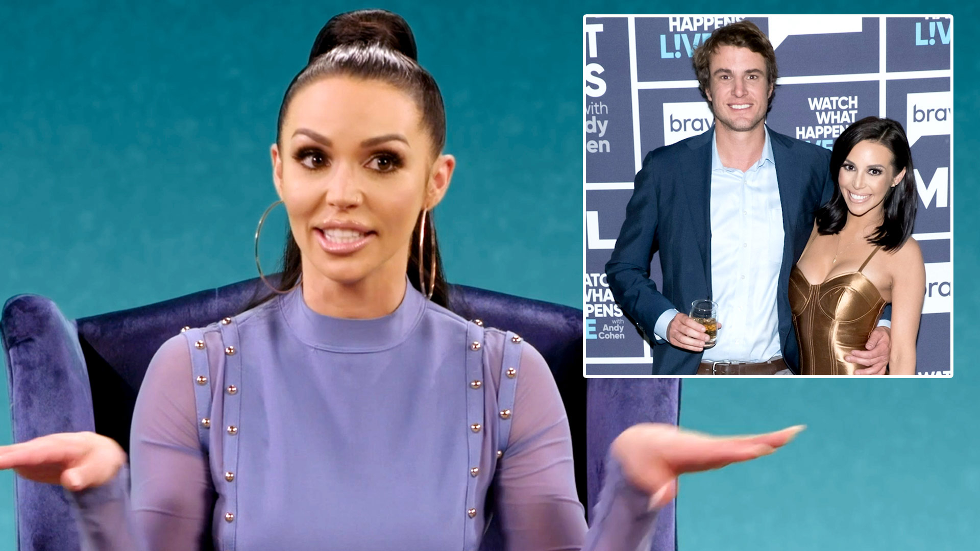 "Scheana Shay Says Shep Rose Isn't ""Good at Rounding the Bases"" Because Usually He's Too Drunk"