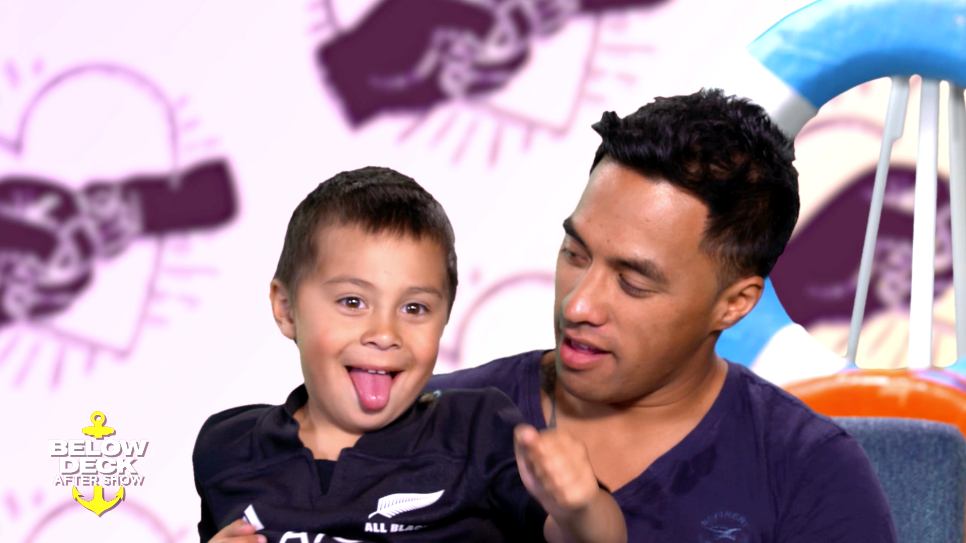 Meet Ross Inia's Son, Kai!