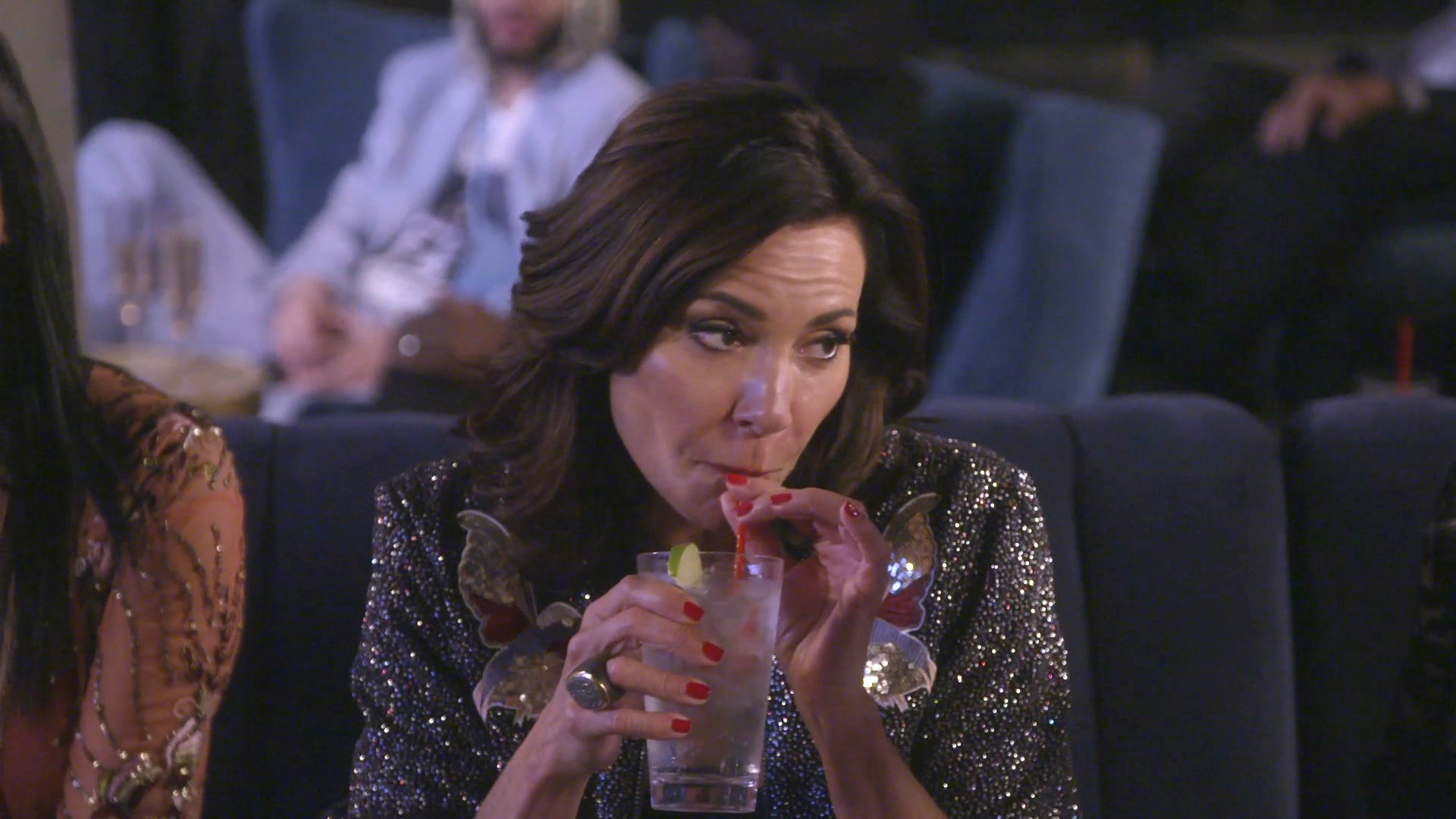 "Luann de Lesseps ""Never F---ed the Pirate"""