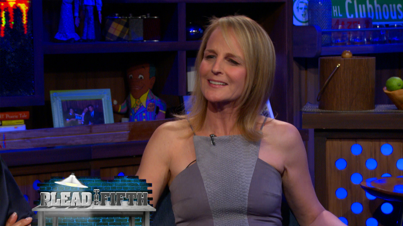 Helen Hunt Plays Plead the Fifth!