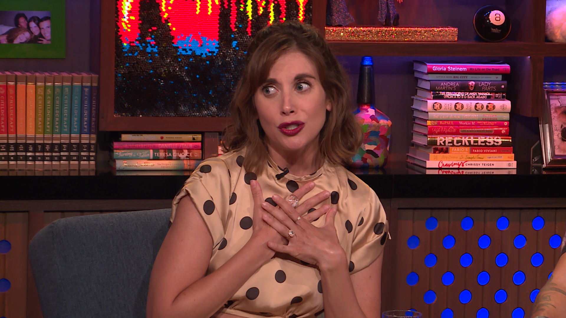 Alison Brie Reacts to That Fake Chrissy Metz Rumor