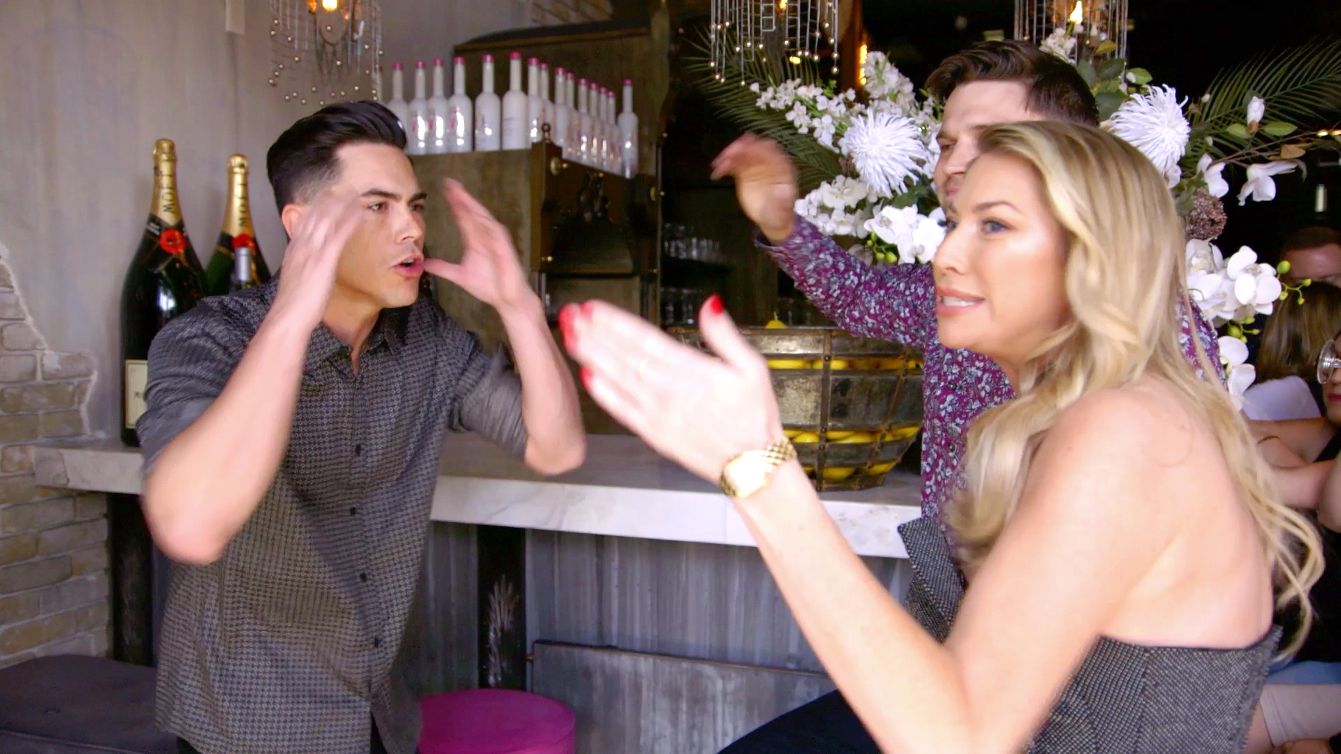 Stassi Schroeder, Tom Schwartz, and Tom Sandoval Get Into a Screaming Match