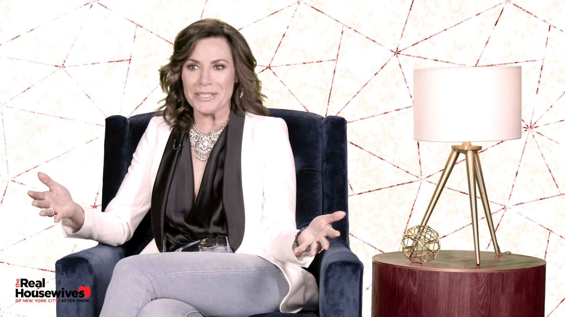 Why Was Luann de Lesseps Upset Bethenny Frankel Left the Halloween Party Early?