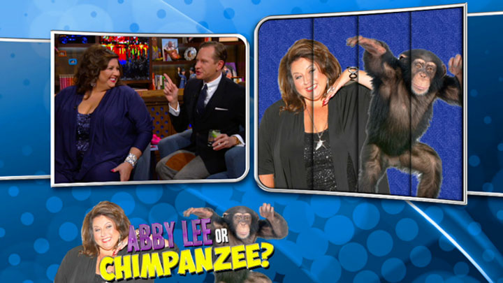 Abby Lee or Chimpanzee?