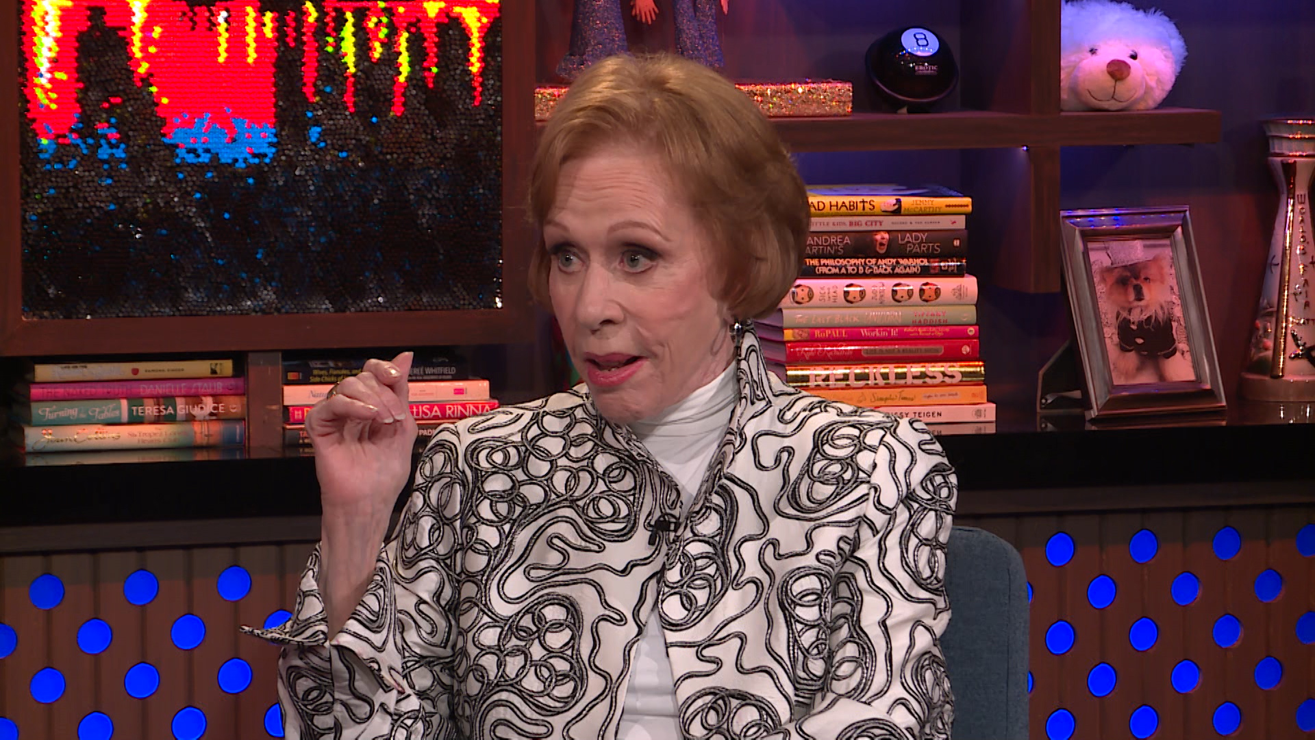 Carol Burnett Reflects of Her Early Sketches