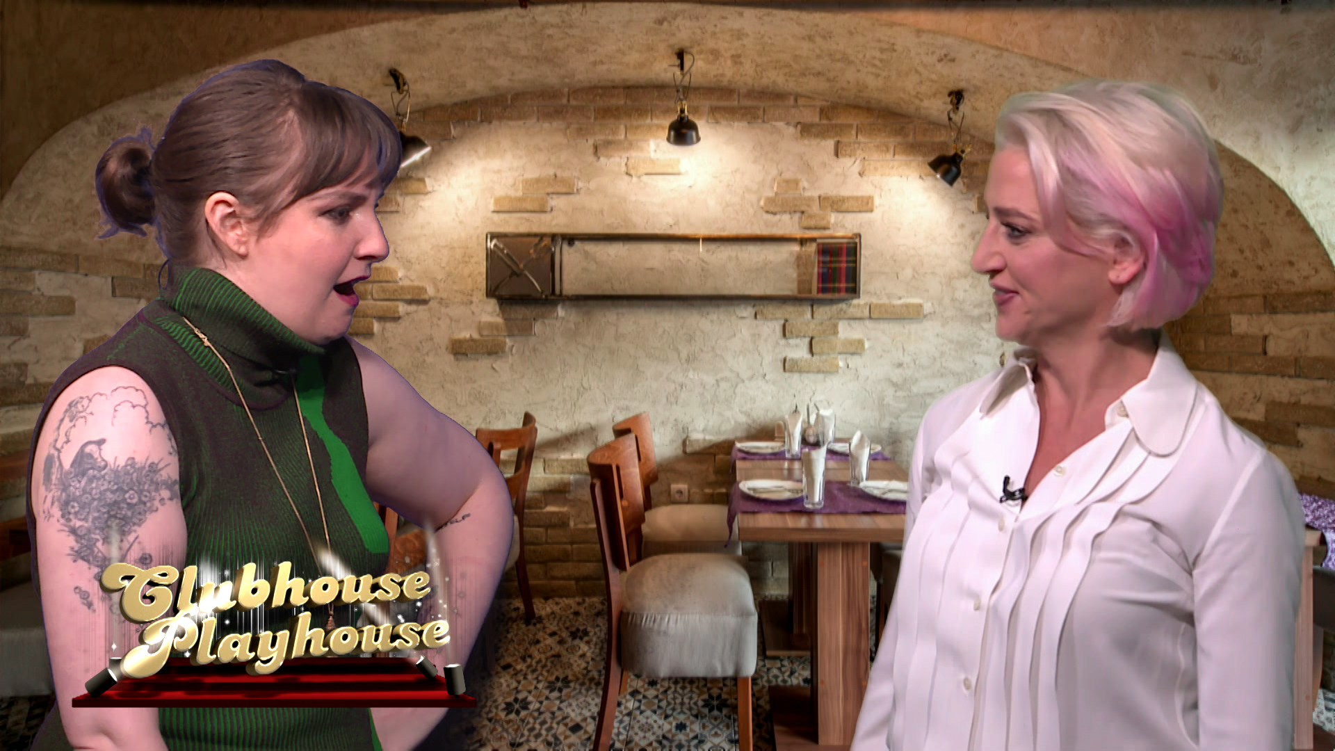 Clubhouse Playhouse with Lena Dunham & Dorinda Medley