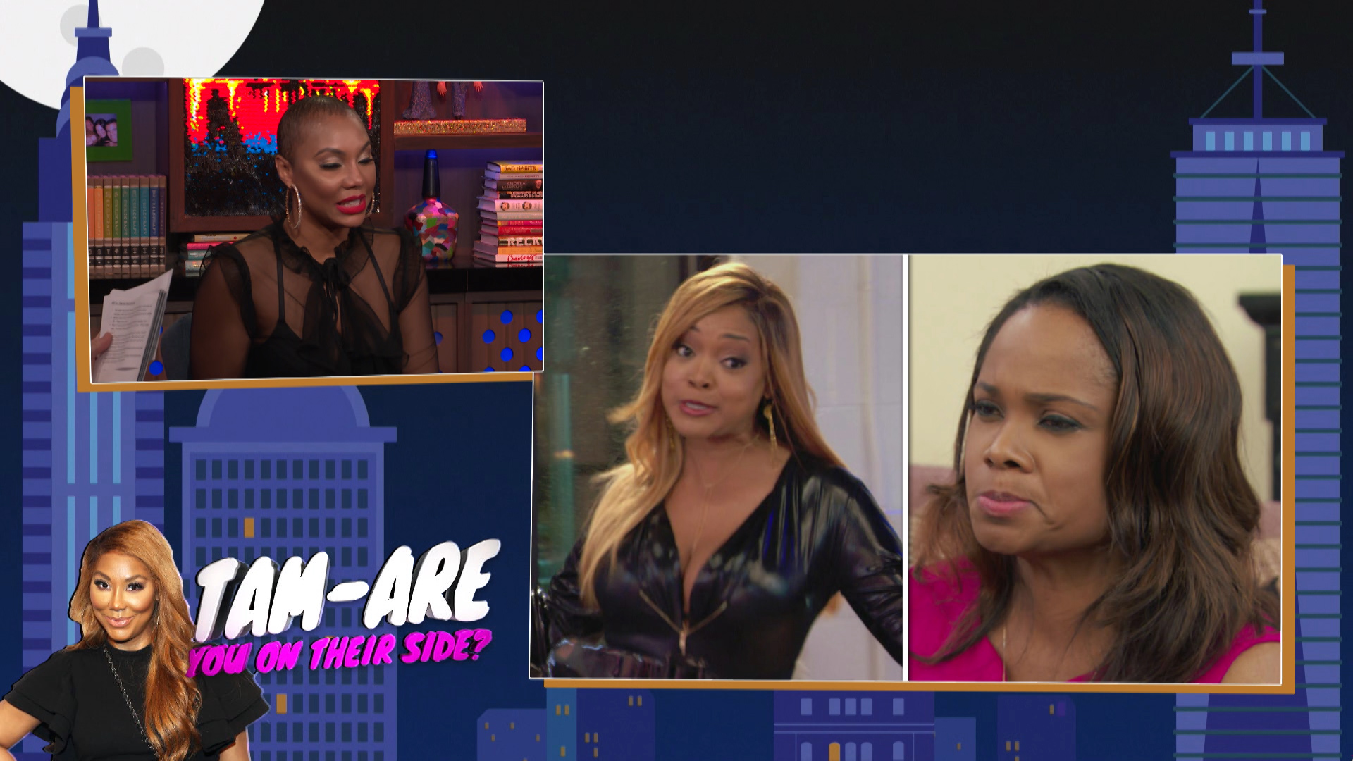 Tamar Braxton Takes on #Married2Med Issues
