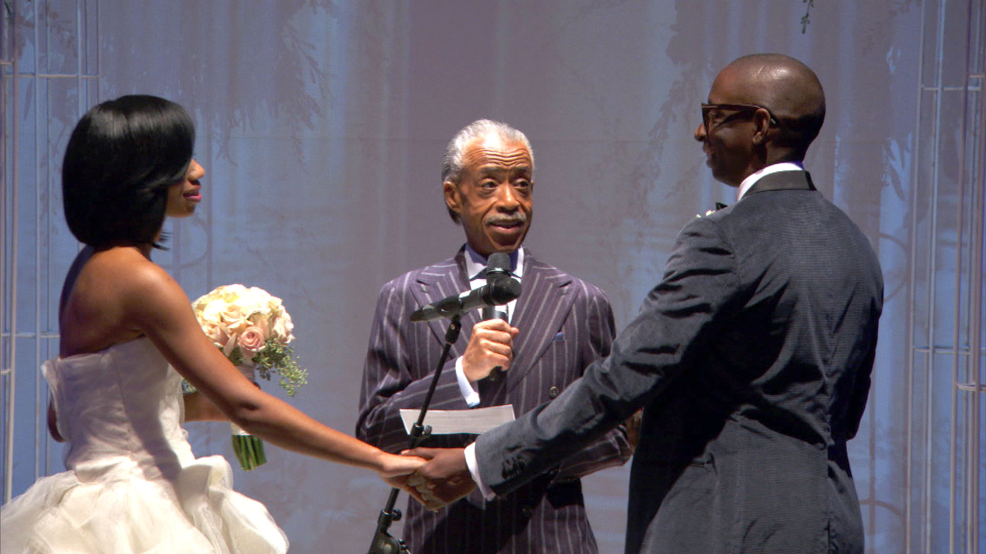 Surprise! It's Reverend Al Sharpton!