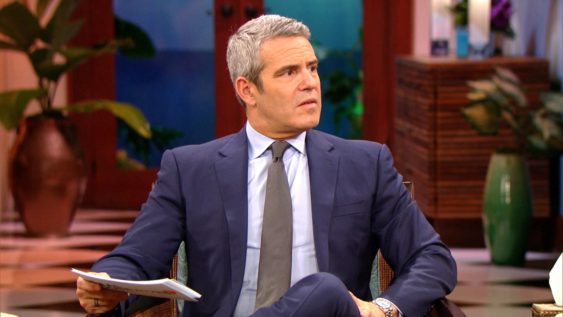 Andy Cohen Is Fascinated by Emily Simpson's Marriage