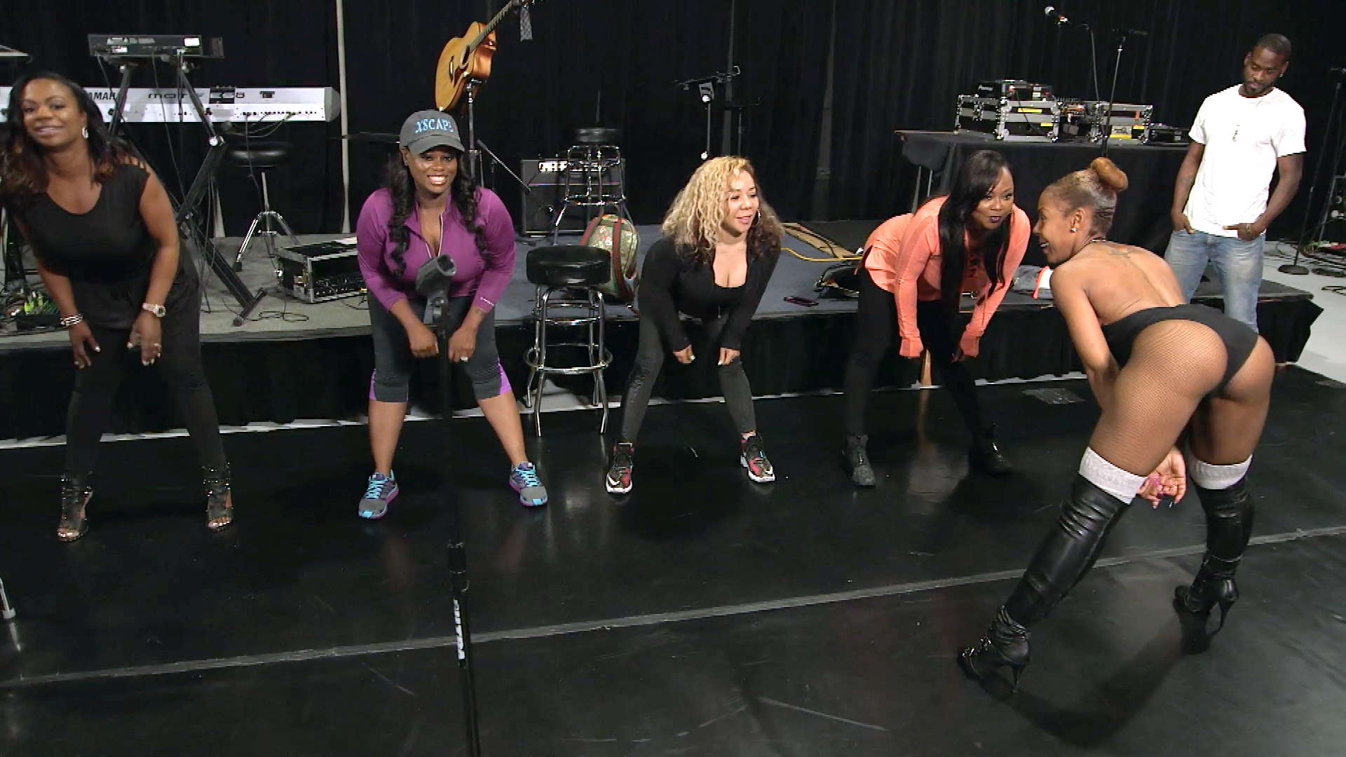 Kandi Burruss Is Not Feeling This Dance Rehearsal