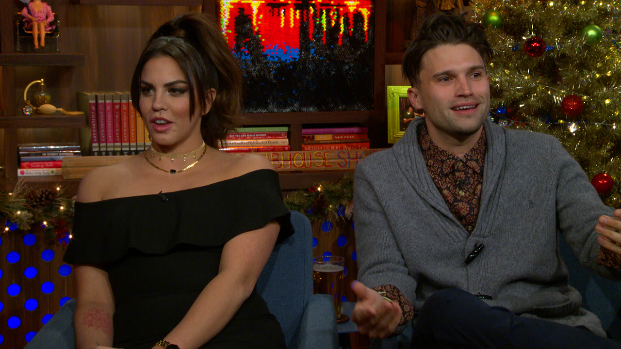 Tom & Katie on Scheana's Divorce