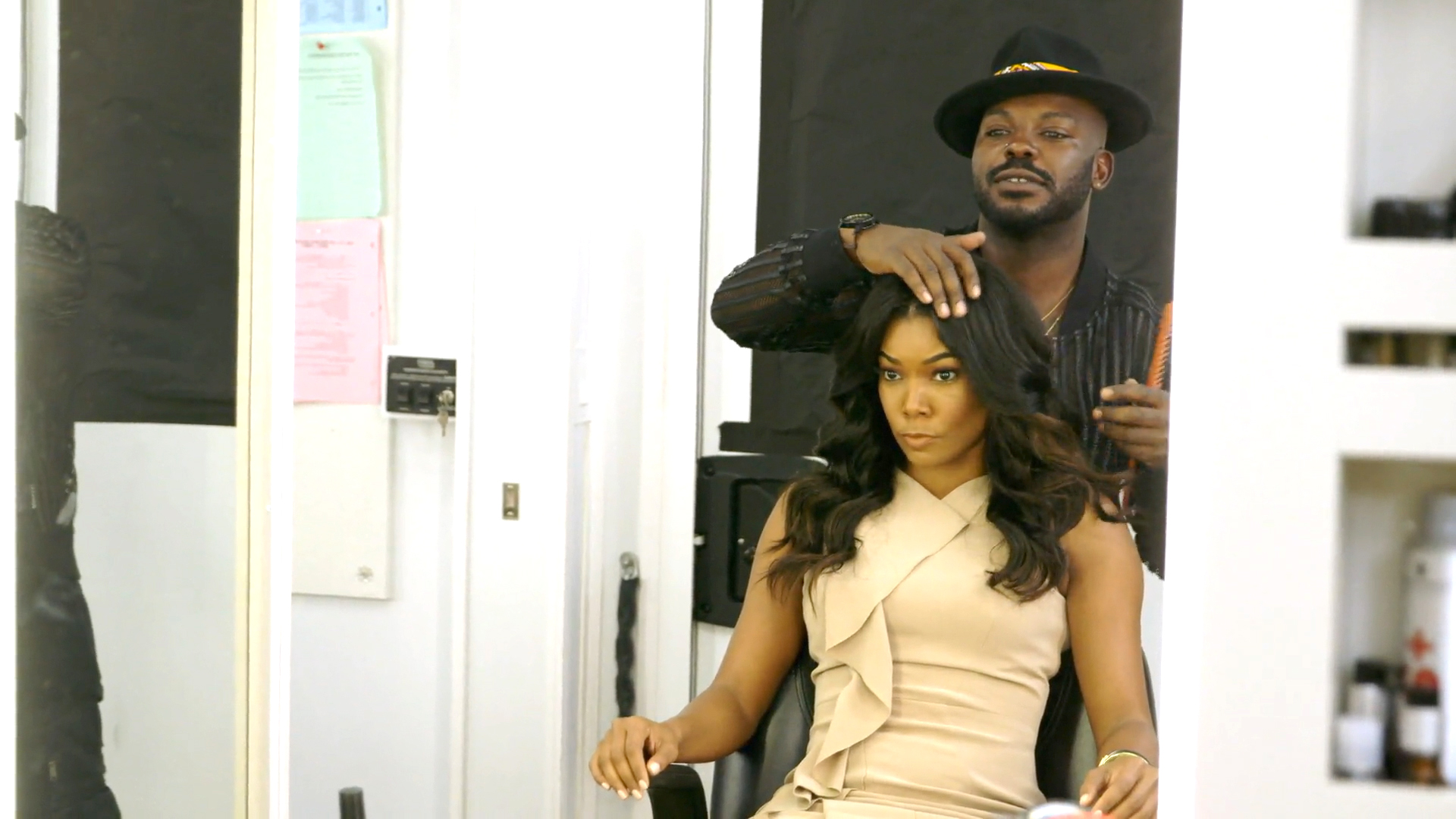 Larry Sims and Gabrielle Union Are #FriendshipGoals