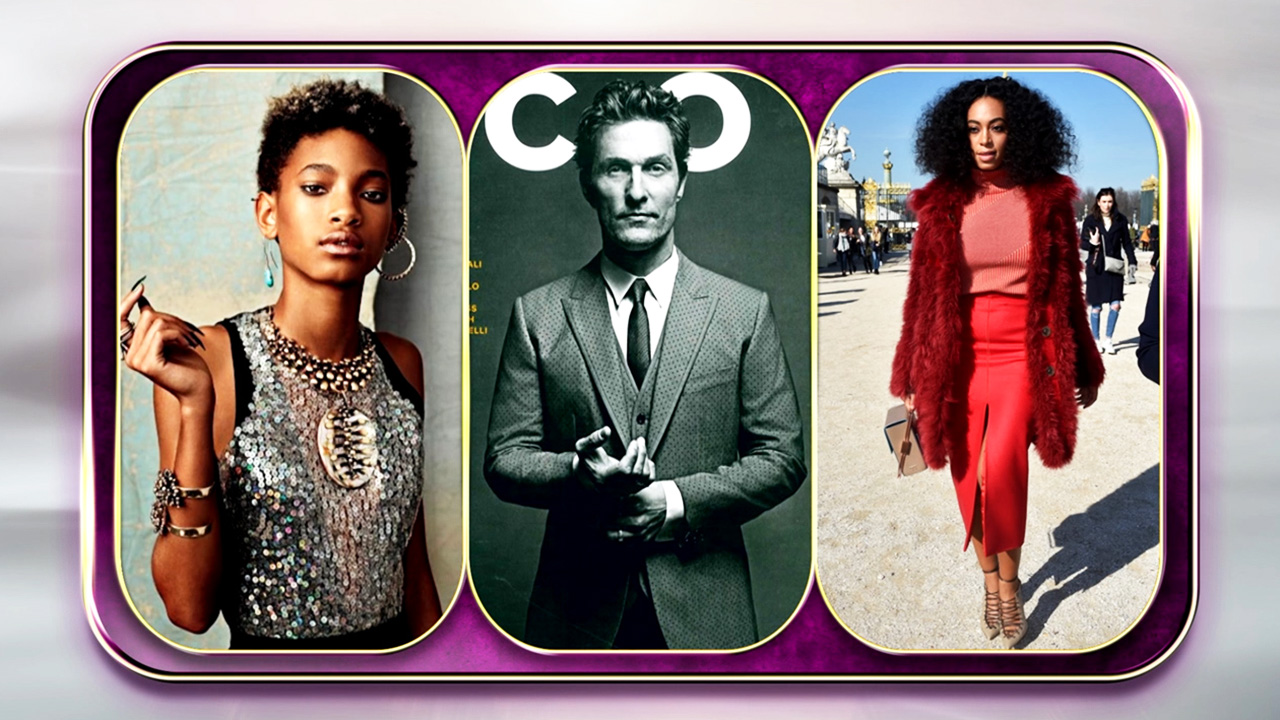 Gag Award: Willow, Matthew or Solange?