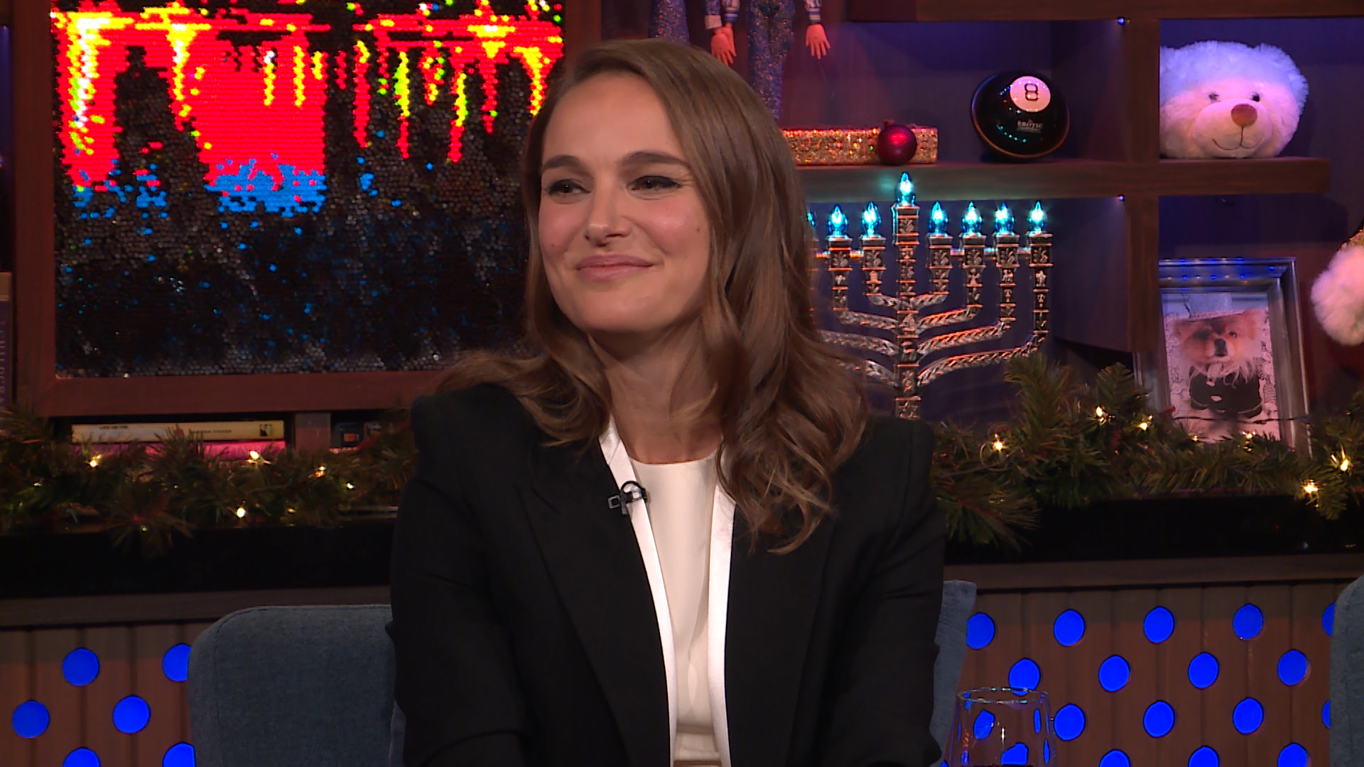 Natalie Portman on Attending Harvard with Mark Zuckerberg