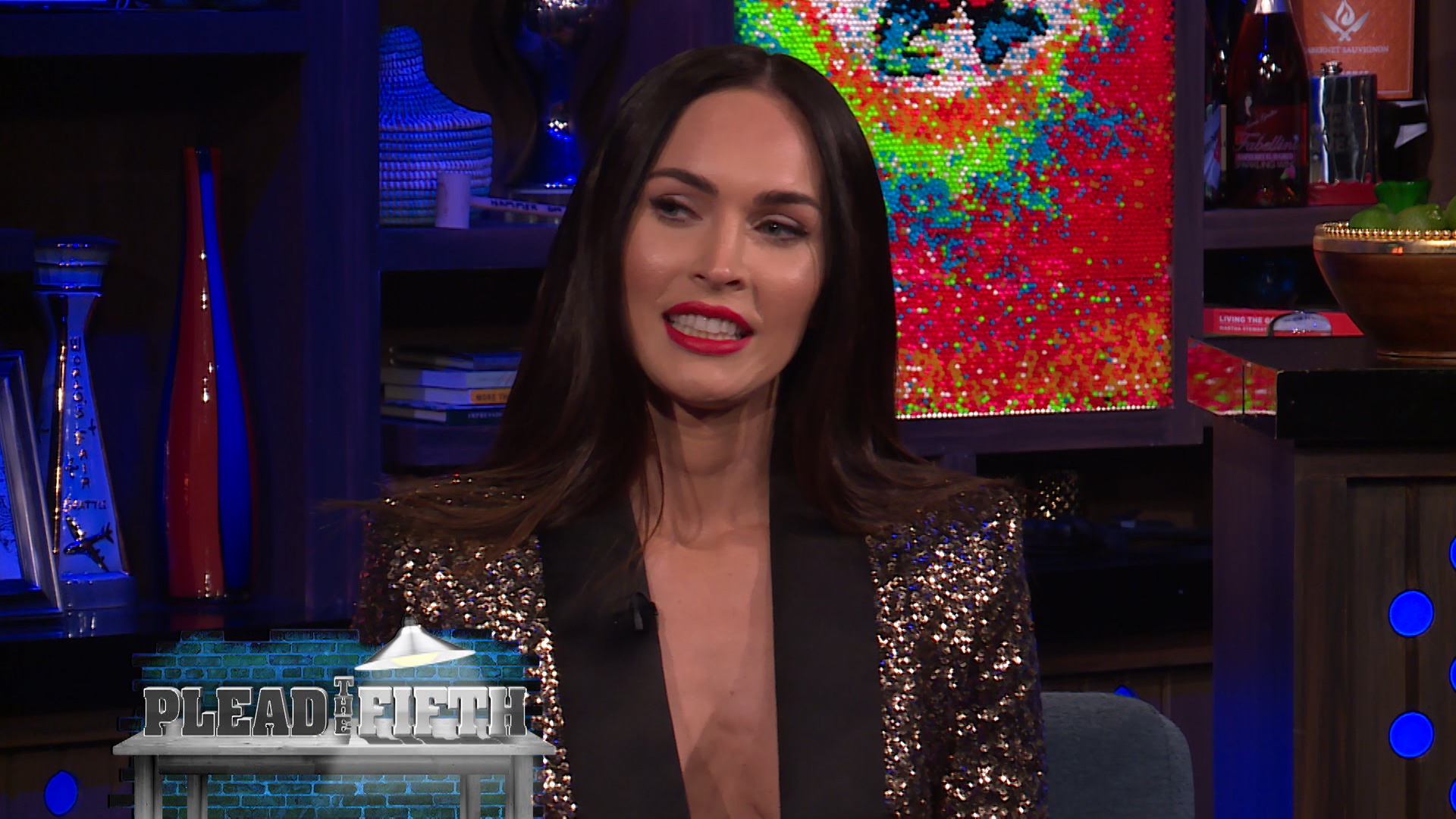 Megan Fox Plays Plead the Fifth!