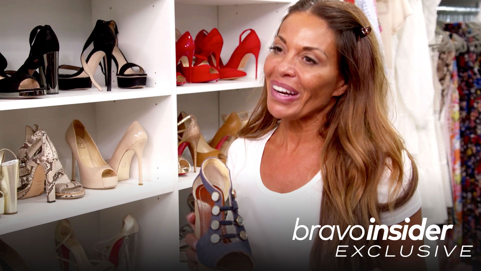 Go Inside Dolores Catania's Huge Closet at Boyfriend David Principe's House