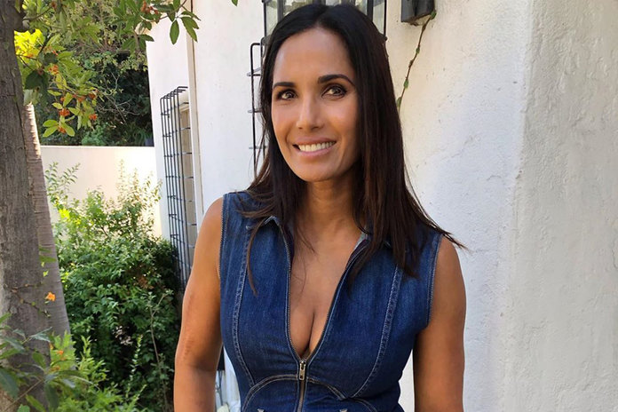 Padma Lakshmi Does Unretouched Photo Shoot For Elle India Style Living
