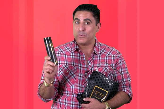 Shahs Of Sunset S Reza Farahan Talks Reza Be Obsessed Haircare Style Living