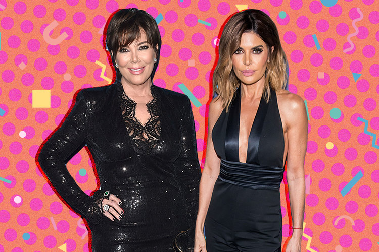 Kris Jenner and Lisa Rinna