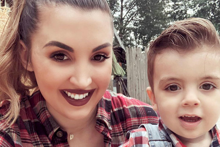 Ashlee Malleo and Son Cameron Malleo
