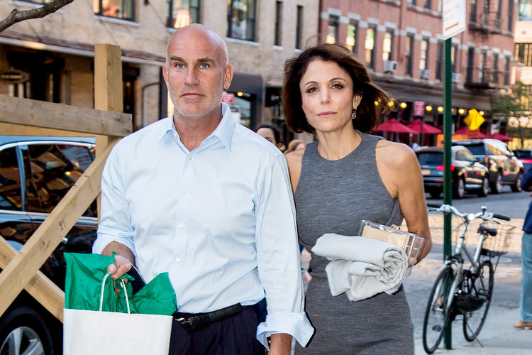 Bethenny Frankel and Dennis Shields in New York City
