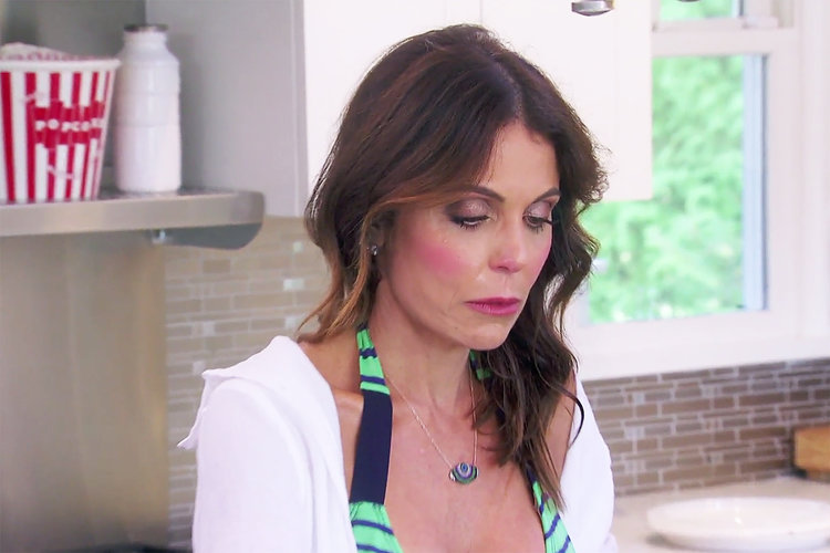 Bethenny Frankel at her home in the Hamptons