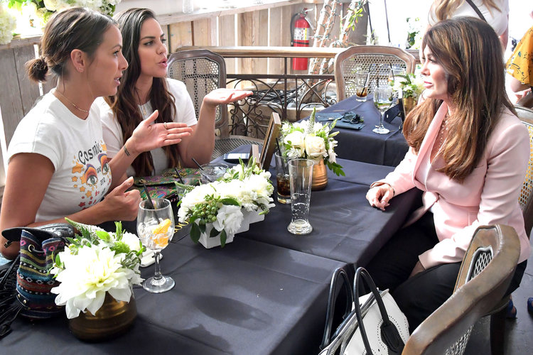 Kristen Doute, Katie Maloney-Schwartz, and Lisa Vanderpump on Vanderpump Rules