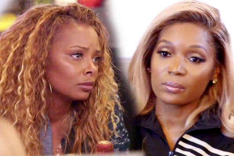 Eva Marcille and Marlo Hampton in Season 11 of The Real Housewives of Atlanta
