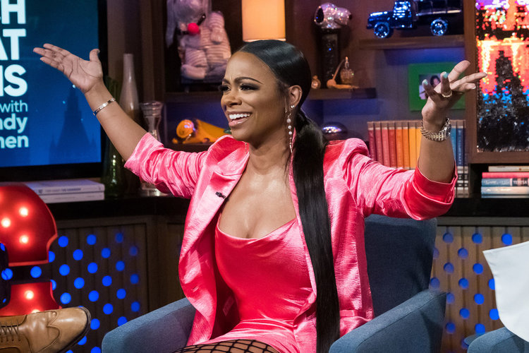 Kandi Burruss on Watch What Happens Live with Andy Cohen