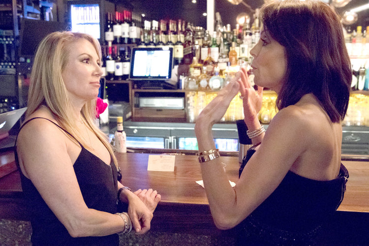 Ramona Singer and Bethenny Frankel in The Real Housewives of New York City