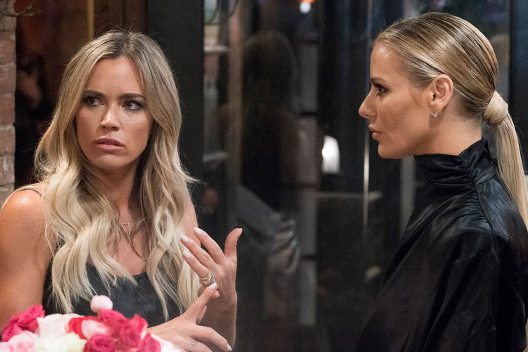 Teddi Mellencamp Arroyave and Dorit Kemsley in The Real Housewives of Beverly Hills Season 9