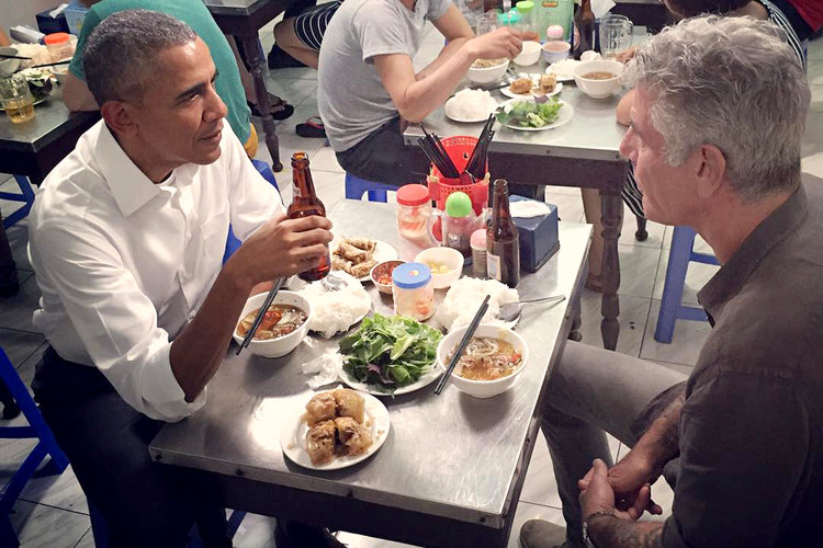 Anthony Bourdain Remembered Book With Quotes From Barack Obama