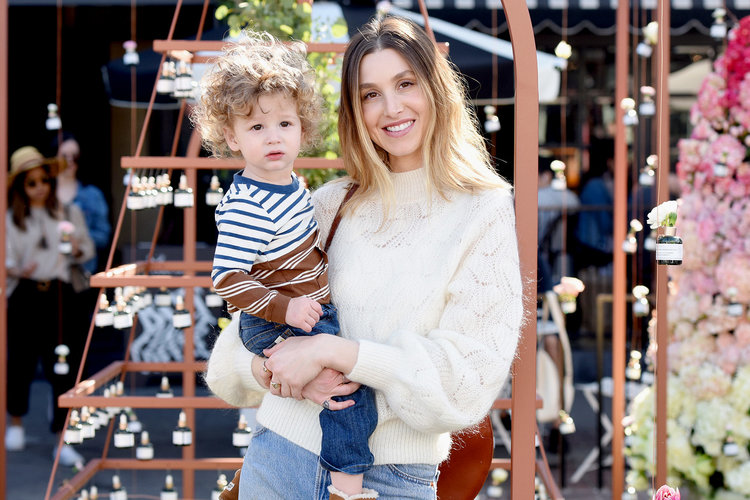 Whitney Port and her son, Sonny