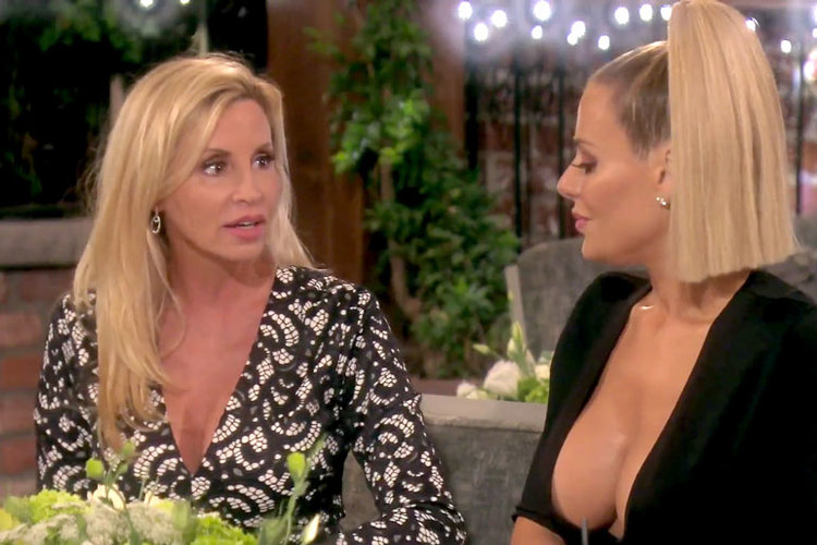 Camille Grammer Insults Lisa Vanderpump's Teeth on The Real Housewives of Beverly Hills Season 9