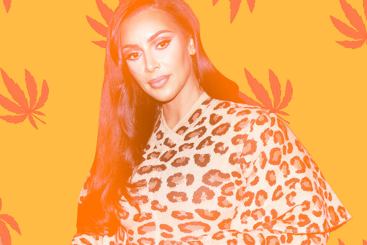 Kim Kardashian Wants CBD Baby Shower