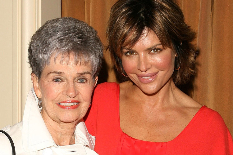 Lisa Rinna and Her Mother Lois