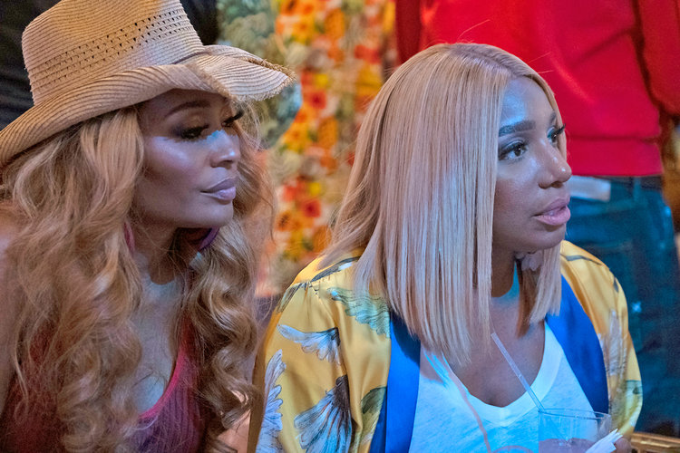 Nene Leakes, Cynthia Bailey in The Real Housewives of Atlanta Season 11 Finale