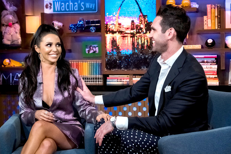 Scheana Shay, Carl Radke on WWHL 4/22/19