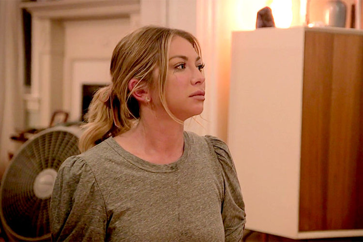 What witch did Stassi Schroeder have come to her house?