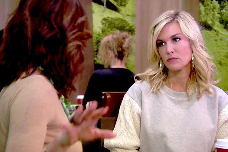 Tinsley Mortimer and Luann de Lesseps