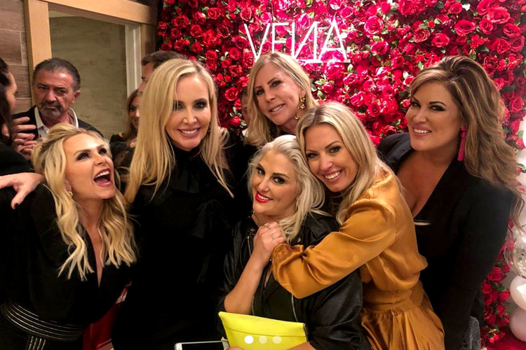 Tamra Judge Vena Wellness Launch Party: Gina Kirschenheiter, Shannon Beador, Emily Simpson, Vicki Gunvalson